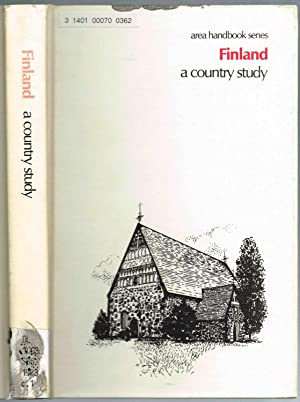 AREA HANDBOOK Series: Finland, A Country Study,: Stoddard, Theodore L.;
