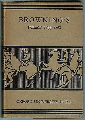The Poems of ROBERT BROWNING: DRAMATIC LYRICS,: Browning, Robert