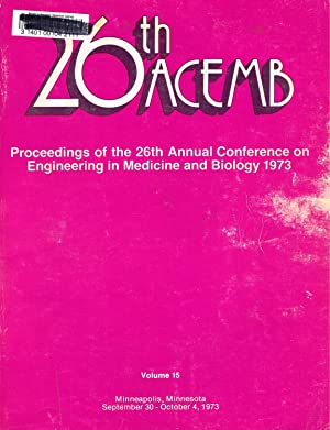 ENGINEERING in MEDICINE and BIOLOGY (ACEMB), 1973,: DeVito, D. M.;