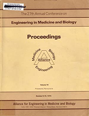 ENGINEERING in MEDICINE and BIOLOGY (ACEMB), 1974,: Malchesky, P. S.;