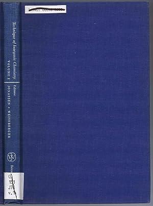 Technique of Inorganic Chemistry, Volume I (Vol: J. D. Corbett;