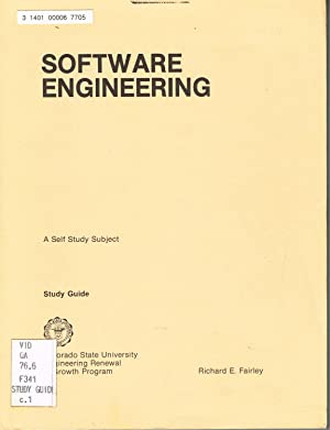 SOFTWARE ENGINEERING: A Self Study Subject, Study Guide.