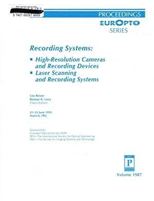Recording Systems: High-Resolution Cameras and Recording Devices;: Beiser, Leo (Ed);