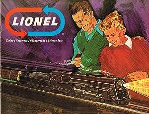 LIONEL Trains / Raceways / Phonographs /: LIONEL