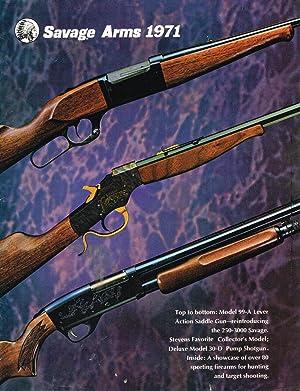 SAVAGE ARMS - 1971 CATALOG + 3: Savage Arms