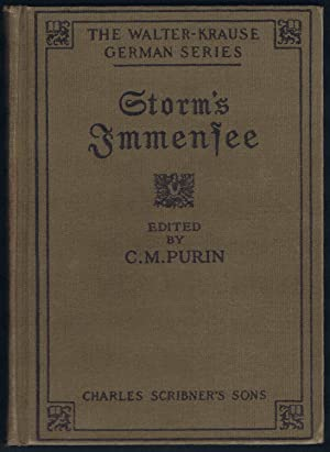 Storm's Immensee (The Walter-Krause German Series): Theodor Storm; Charles