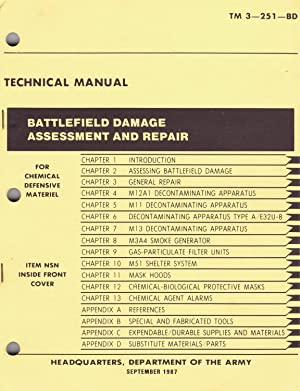U.S. Army Technical Manual, BATTLEFIELD DAMAGE ASSESSMENT: Department of The