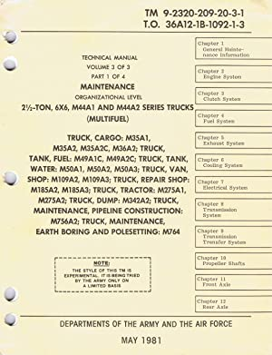 Tm6 first edition abebooks us army technical manual tm 9 2320 209 20 3 fandeluxe Gallery