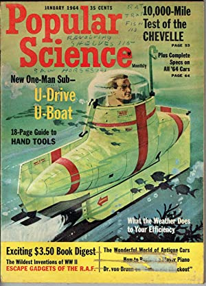 POPULAR SCIENCE MONTHLY: JANUARY 1964, Volume 184,: Robert P. Crossley