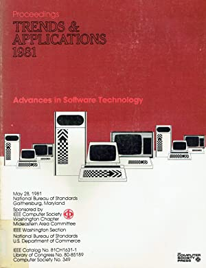 Advances in Software Technology: Trends and Applications 1981 - PROCEEDINGS