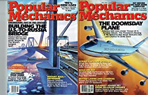 POPULAR MECHANICS, 10 issues: Apr, May, Jul-Dec 1994 & Jan, Mar 1995