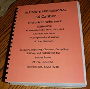 ULTIMATE PROFESSIONAL .50 Caliber Historical Drawing and: HQ U.S. Army;