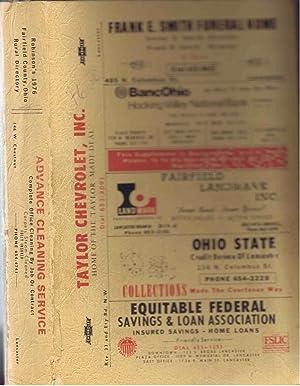 Robinson's 1976 Fairfield County, Ohio Rural Directory,: Robinson Directories staff