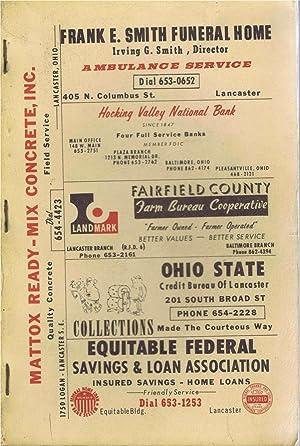 Robinson's 1970 Fairfield County, Ohio Rural Directory,Home: Robinson Directories staff