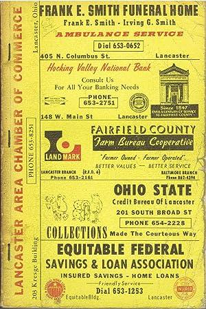 Robinson's 1966 Fairfield County, Ohio Rural Directory,Home: Robinson Directories staff
