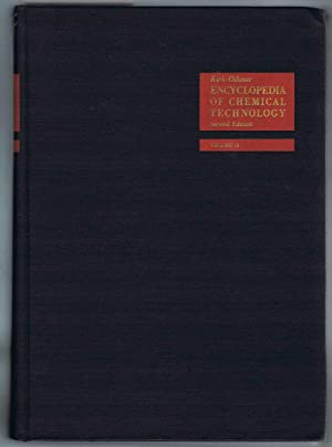 Kirk-Othmer ENCYCLOPEDIA OF CHEMICAL TECHNOLOGY. Second Edition, Volume 18, Shale Oil to Steroids