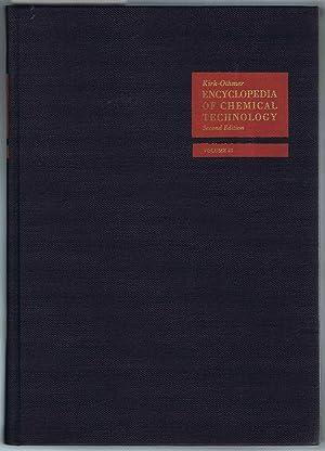 Kirk-Othmer ENCYCLOPEDIA OF CHEMICAL TECHNOLOGY. Second Edition, Volume 21, Uranium and Uranium ...