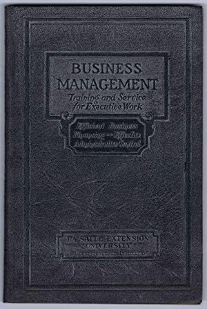 PRINCIPLES OF PROFITABLE MANAGEMENT, BUSINESS MANAGEMENT Executive Manuals 7 and 8: EFFICIENT BUS...