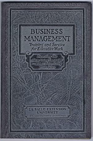 ADVERTISING and MARKETING, BUSINESS MANAGEMENT Executive Manuals 29 and 30: DIRECTING the ADVERTI...