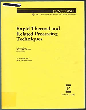 Rapid Thermal and Related Processing Techniques - Volume 1393, Proceedings of SPIE, 2-3 October ...