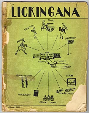 LICKINGANA: STUDENT EDITION, Vol. 5, No. 1, February, 1939 - Licking County, Ohio