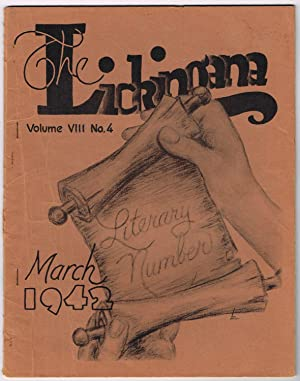 LICKINGANA: STUDENT EDITION, Vol. 8, No. 4, March, 1942 - Licking County, Ohio