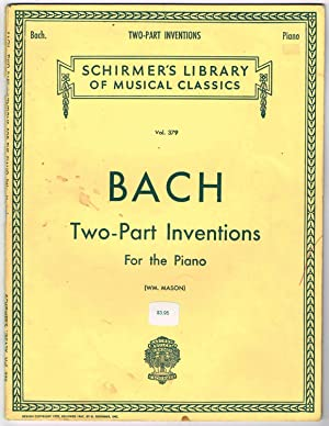 BACH Two-Part Inventions For the Piano: Vol.: Mason, William