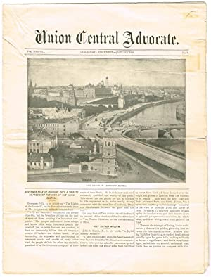 UNION CENTRAL ADVOCATE: VOL. XXXVIII, DECEMBER-JANUARY 1906