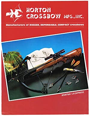 HORTONCROSSBOW MFG., 1986 (plus Dealer's Price List: Horton staff