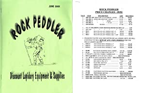 INTRODUCTION TO MEETPOINT FACETING + ROCK PEDDLER catalog JUNE 2001 + 2001 PRICE LIST AND MISC. ...