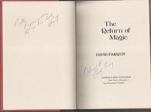 The Return Of Magic: Farren, David