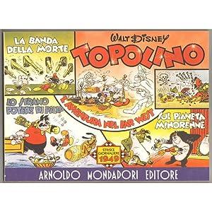TOPOLINO strisce giornaliere 1949
