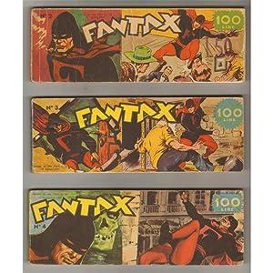 FANTAX I SERIE 02-03-04 + II SERIE 06-07-09-10