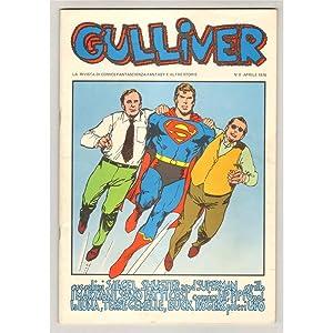GULLIVER 1976-78 10 RIVISTE
