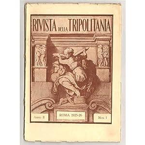 RIVISTA DELLA TRIPOLITANIA 1925-26 01