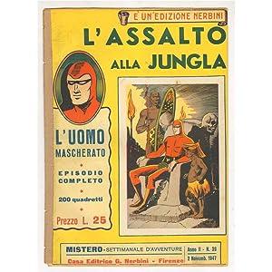 MISTERO ANNO II 39 L'UOMO MASCHERATO