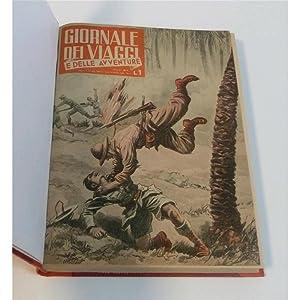 GIORNALE DEI VIAGGI E DELLE AVVENTURE 1943 completo nn. 1-32