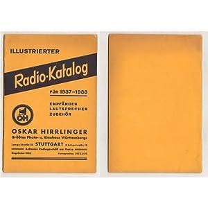 RADIO-KATALOG FUR 1937-1938 - OSKAR HIRRLINGER