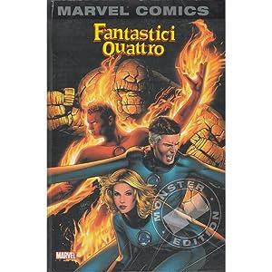 MARVEL MONSTER EDITION 005 - FANTASTICI QUATTRO