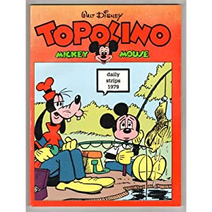 TOPOLINO MICKEY MOUSE DAILY STRIPS 1979