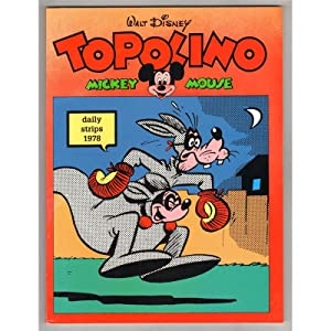 TOPOLINO MICKEY MOUSE DAILY STRIPS 1978