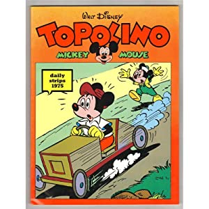 TOPOLINO MICKEY MOUSE DAILY STRIPS 1975