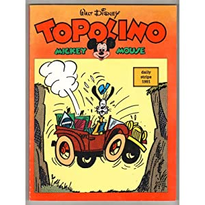 TOPOLINO MICKEY MOUSE DAILY STRIPS 1981