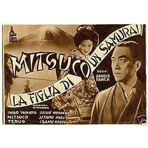 depliant MITSUCO LA FIGLIA DI UN SAMURAI Franck 1937