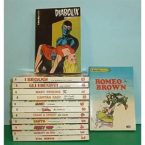 I DARDO POCKET 1-13 cpl Diablik Garth Romeo Brown