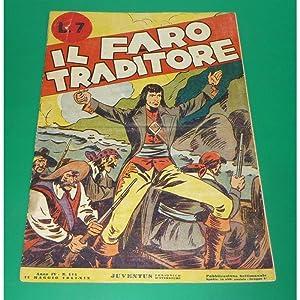 Albi Juvenuts n. 114 IL FARO TRADITORE 1941 + poster BARI
