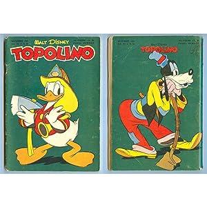 walt disney TOPOLINO n. 21 - novembre 1950