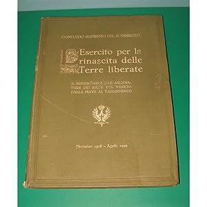 L'ESERCITO PER LA RINASCITA DELLE TERRE LIBERATE 1919