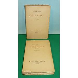 Ojetti COSE VISTE 1921-1923 e 1923-1924 Mondadori 1940: Ojetti Ugo