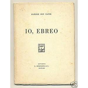 Elièzer Ben David IO, EBREO Bleforte 1927 copia n. 580